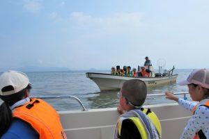 琵琶湖学習船でクルージング!賛同乗船募集(「生水の郷自然教室」連動企画)大人4,000円、小人2,000円、幼児無料